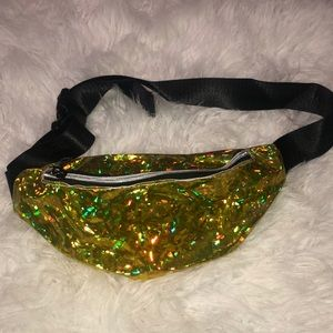 Gold Holographic Waist Pack